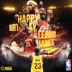 Join us in wishing @KingJames of the @Cavs a HAPPY 30th BIRTHDAY! #LBJat30