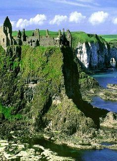 Dunluce Castle - Antrim coast, Northern Ireland