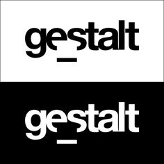 redesign of our logo gestalt (Gestaltheory)