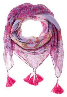 Anna Field Pañuelo Purple Pañuelos Y Bufandas De Mujer Desde el siglo 18, las mujeres se adornan con bufandas y pañuelos para embellecer y modernizar sus looks.