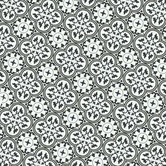 carreau ciment gris - carreau de ciment décor rosas