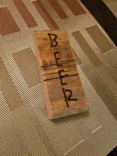 Rustic simple bottle opener by MalmgrenFurniture on Etsy
