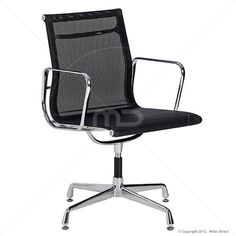 Aluminium Visitor Mesh Office Chair - Eames Reproduction