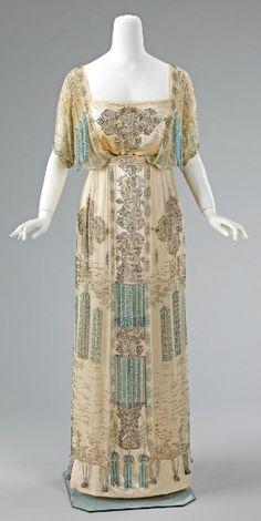 1910's Evening Dress
