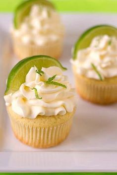 Margarita cupcakes! Making these for my work Cinco de Mayo party (WITHOUT tequila, unfortunately)! Dibs :)