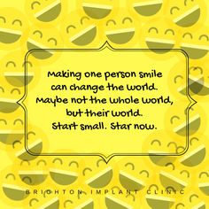 Start changing the world with a simple SMILE. :) #smilecanchangetheworld #quotes #inpirationalquotes #upliftingquotes #goodvivesquotes #gv