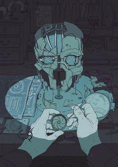 Dishonored: Mask by coupleofkooks