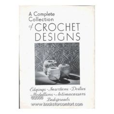 cotton crochet designs - #vintage #crochet from the 1930's - #craft #history