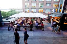 Terroir on the Porch -- The Highline, NYC