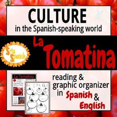 Students read and discuss holiday traditions in Spain regarding La Tomatina festival. The reading is provided in both color & black and white. There is a graphic organizer with comprehension questions to go with the reading. Both the reading and the comprehension questions have English versions and Spanish versions so you can decide what best fits your class!How to get TPT credit to use on future purchases: Please go to your My Purchases page (you may need to login).