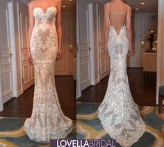 Berta Bridal 2015 Fall/Winter Collection #lowback