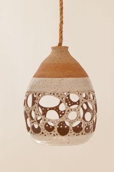 ceramic lamp - heather levine