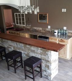 nice artificial stone for decorating your kitchen