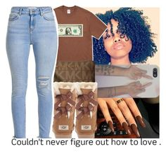 """Untitled #121"" by jayythegreatest ❤ liked on Polyvore featuring MICHAEL Michael Kors and UGG Australia"