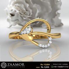 Dacia Diamond Ring #zaamordiamonds #zaamor #diamondring #diamondrings #ring #rings #heartring #heartstrings #ringjewelry #ringjewellery #jewelry #jewellery #jewelleryrings #jewelleryring