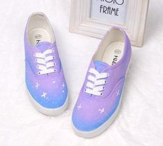 Harajuku Wind Gradient Star Canvas Shoes JCFD