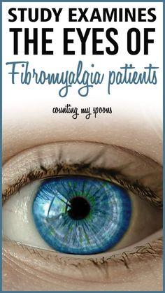 Study examines the eyes of fibromyalgia patients with interesting results. Fibromyalgia Disability, Signs Of Fibromyalgia, Fibromyalgia Pain Relief, Fibromyalgia Flare, Fibromyalgia Treatment, Diagnosing Fibromyalgia, Chronic Fatigue Syndrome, Fibromyalgia Syndrome, Chronic Illness