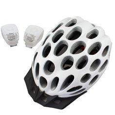 Lerway Breather Design Cycling Bicycle Adult Mens Bike Helmet with Visor + 2 Frog Waterproof Bike Cycling LED Light (White) Lerway http://www.amazon.com/dp/B00HWR4ZA0/ref=cm_sw_r_pi_dp_Duesvb1FMZSGY