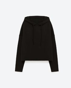 Image 8 of SHORT OVERSIZED SWEATSHIRT from Zara
