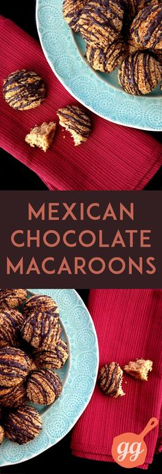 Mexican Chocolate Macaroons - paleo, dairy free