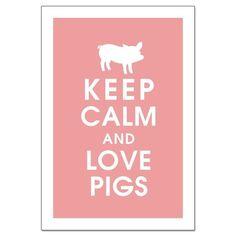 I love pigs <3