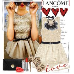 Wow!  lancome, created by catterson.polyvore.com