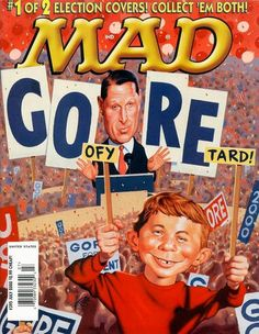 Cover for MAD (EC 1952 serie) #395 - JULY 2000