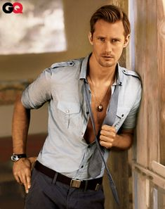 Alexander Skarsgard - I would watch him do anything! ;)