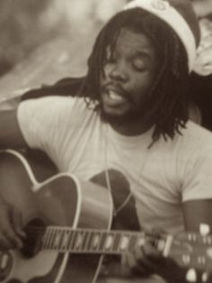 *Peter Tosh* at Bunny Wailer's farm, Hectors River, Portland, Jamaica, 1978. More fantastic pictures and videos of *The Wailers* on: https://de.pinterest.com/ReggaeHeart/ ©Adrian Boot/ urbanimage.tv