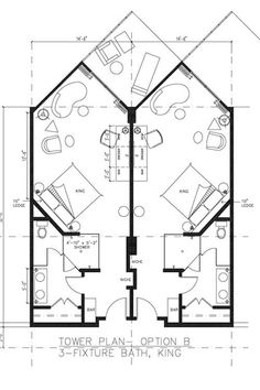 typical w hotel guestroom plans The Plan, How To Plan, Hotel Floor Plan, House Floor Plans, Apartment Layout, Apartment Plans, Bungalow Hotel, Resort Plan, Hotel Room Design