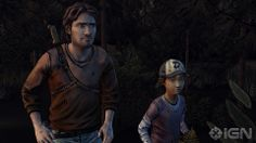 luke and clementine   The Walking Dead: Season 2, Episode 2 Review - IGN