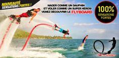 79$ pour une séance de flyboard avec Flyboard Xtreme! 10 emplacements disponibles! (valeur de 209$)