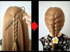 Top 10 amazing hairstyles ♥️ Hairstyles Tutorials ♥️ Easy hairstyles with hair tools - YouTube #toplonghairstyles Cool Easy Hairstyles, Short Hair Braided Hairstyles, Elvish Hairstyles, Beautiful Hairstyles, Club Hairstyles, Kids Hairstyle, Beautiful Braids, Fancy Hairstyles, Hairstyles Videos