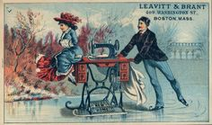 Trade Card (late 1800s ?)