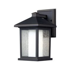 Z-Lite�Mesa 10-in Oil-Rubbed Bronze Outdoor Wall Light