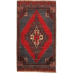 Melis Rug In Light Burgundy And Red