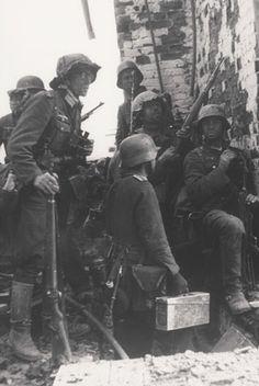 German Grenadiers in Stalingrad