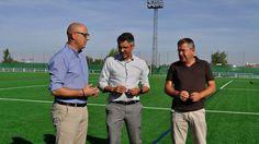 Sustituido el césped del campo de fútbol de la Ciudad Deportiva de Pozoblanco con una inversión de 155000 euros