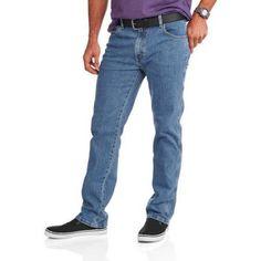 Faded Glory Big Men's Flex Waist Jeans, Size: 48 x 30, Gray