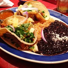 Achiote Tacos from On the Border in Reston VA.