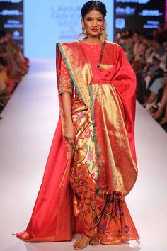 Gaurang Shah Lakmé Fashion Week Winter/Festive 2015. Gaurang Shah Collection, Designs, Fashion Shows, Lehengas & Sarees, Pictures and Photos on Bigindianwedding