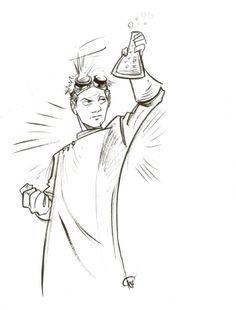 Dr. Horrible sketch by Fabio Moon.