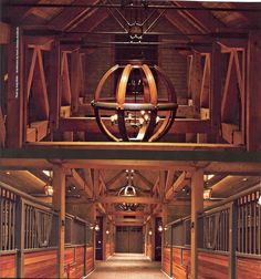20 Absolutely Breathtaking Barn Aisles   HORSE NATION