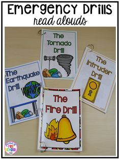 and supports to make fire drills less stressful and scary for kids in your preschool, pre-k, and kindergarten classrooms.Visuals and supports to make fire drills less stressful and scary for kids in your preschool, pre-k, and kindergarten classrooms. Beginning Of The School Year, First Day Of School, Back To School, Preschool Rules, Preschool Activities, Vocabulary Activities, Autism Classroom, Kindergarten Classroom, Inclusion Classroom