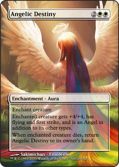 Magi the gathering - Angelic destiny by ASliceOfUnagi