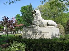 Abolition monument by Martin Milmore, Mt. Auburn Cemetery, Cambridge, MA.