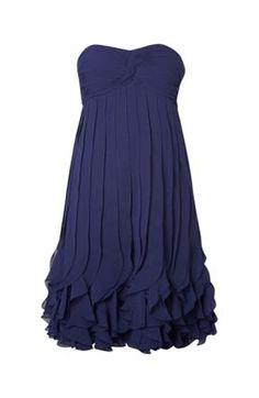 Untold Chiffon Navy Dress  Navy Dresses #2dayslook #susan257892 #watsonlucy723 #NavyDresses  www.2dayslook.com