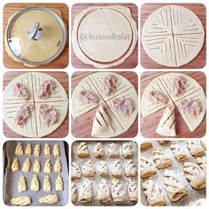 165 pieces Creative of homemade pastries - Delicious Food Pastry Recipes, Bread Recipes, Cookie Recipes, Pastry Design, Bread Shaping, Bread Art, Apple Cookies, Homemade Pastries, Food Garnishes