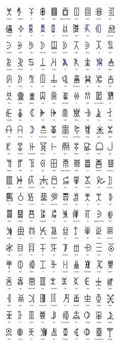Symbols and Their Meanings Egyptian Symbols And Their Meanings Nsibidi writing system by catalina Viking Symbols And Meanings, Egyptian Symbols, Ancient Symbols, Celtic Symbols, Symbols And Their Meaning, Indian Symbols, Wiccan Symbols, Magic Symbols, Tattoos And Their Meanings
