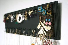 Seya Wall Mount Jewelry Box Armoire Black Finish by Seya 17995